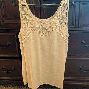 Women's Cato creme Top. Size 18/20 wide